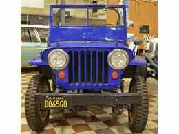 Picture of Classic 1946 Jeep Willys Civilian Offered by Spoke Motors - L6DW