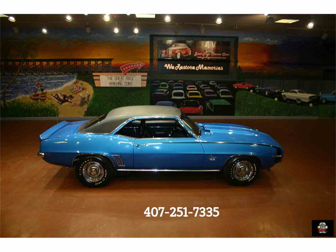 1969 Chevrolet Camaro SS for Sale - CC-988134