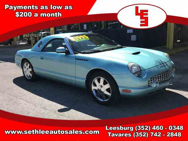 2002 Ford Thunderbird | 988159