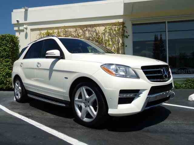 2012 Mercedes ML550 4-Matic | 988192