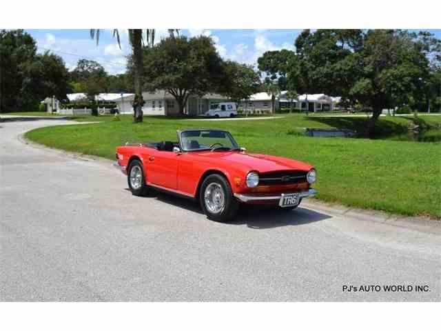 1972 Triumph TR6 | 988292