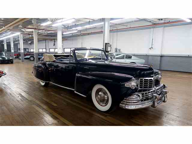 2017 Lincoln Continental Interior >> 1945 to 1947 Lincoln Continental for Sale on ClassicCars.com - 8 Available