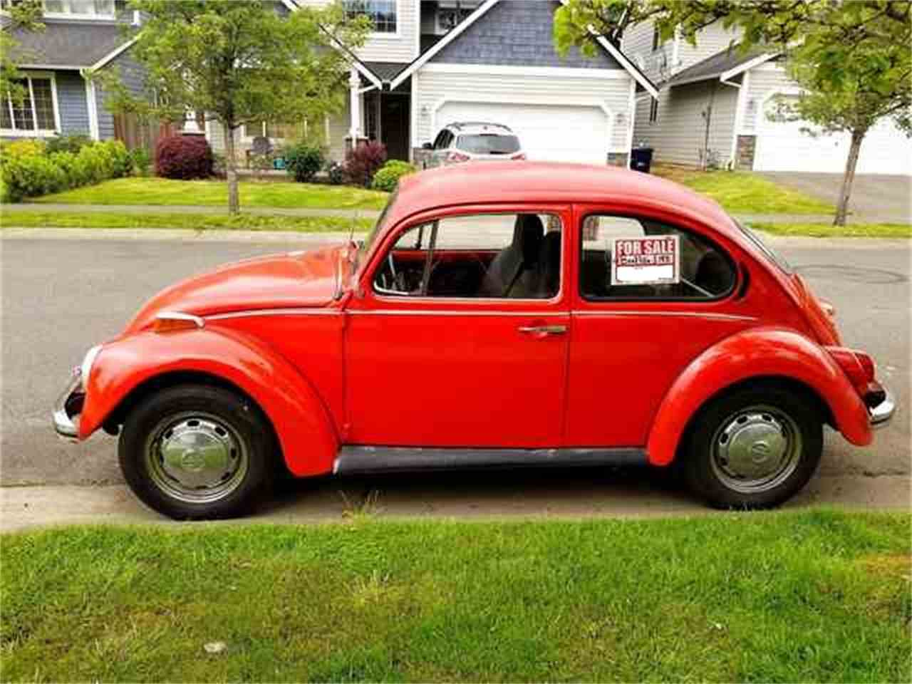1972 volkswagen beetle for sale cc 988461. Black Bedroom Furniture Sets. Home Design Ideas