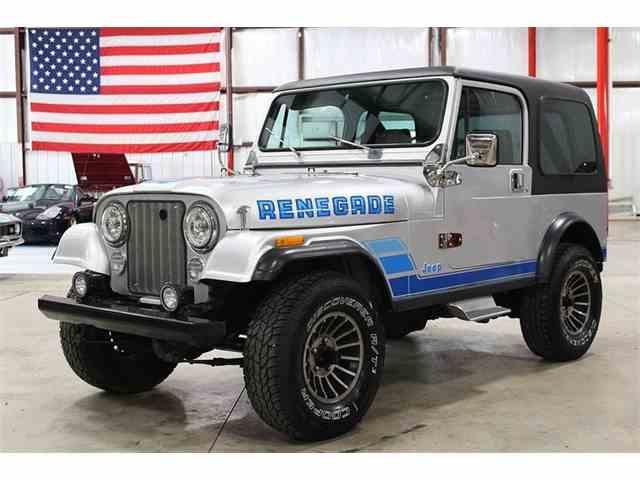1986 Jeep CJ7   988498