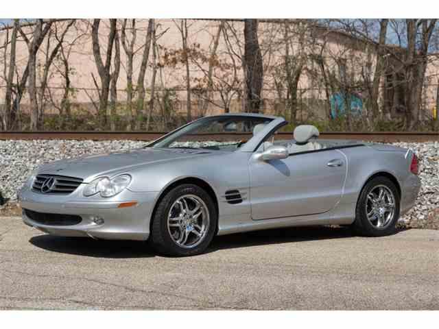 2003 Mercedes-Benz SL500   988504