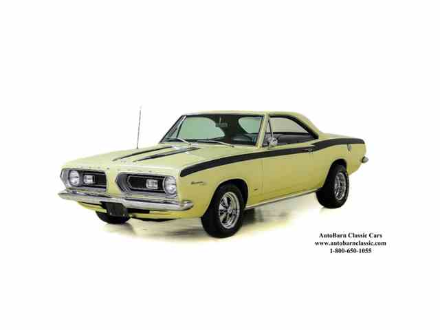 1967 Plymouth Barracuda Knotchback | 988566