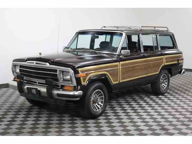 classic jeep wagoneer for sale on 20. Black Bedroom Furniture Sets. Home Design Ideas