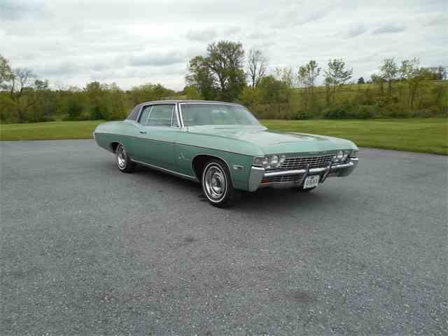1968 chevrolet impala for sale on 18 available. Black Bedroom Furniture Sets. Home Design Ideas
