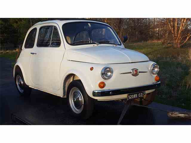 classic fiat 500 for sale on 9 available. Black Bedroom Furniture Sets. Home Design Ideas