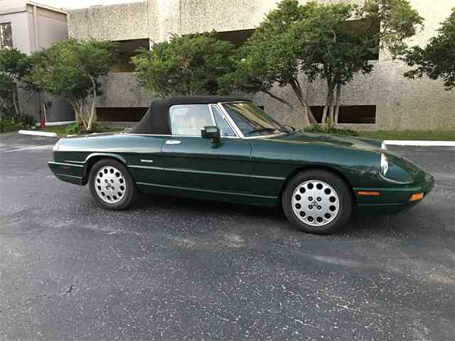 1992 Alfa Romeo Spider | 988950