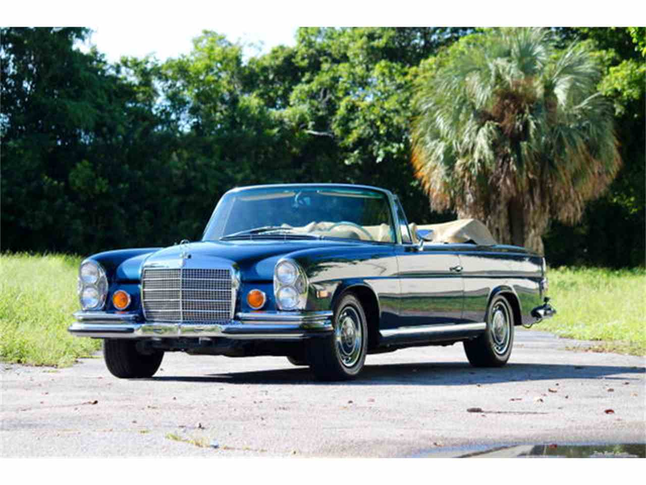 1971 mercedes benz 280se for sale cc for Palm beach mercedes benz