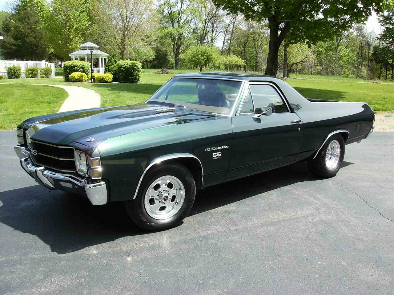 1971 chevrolet el camino ss for sale cc 989049. Black Bedroom Furniture Sets. Home Design Ideas