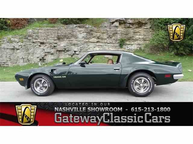 1973 Pontiac Firebird Trans Am | 989120