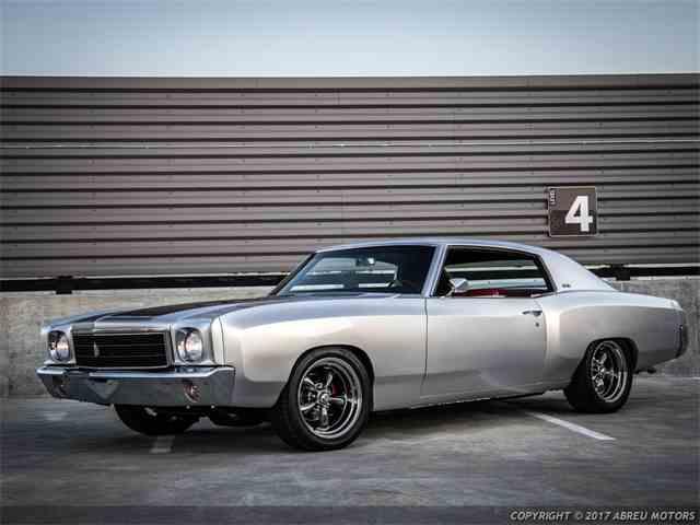 1970 Chevrolet Monte CarloResto Mod   989182