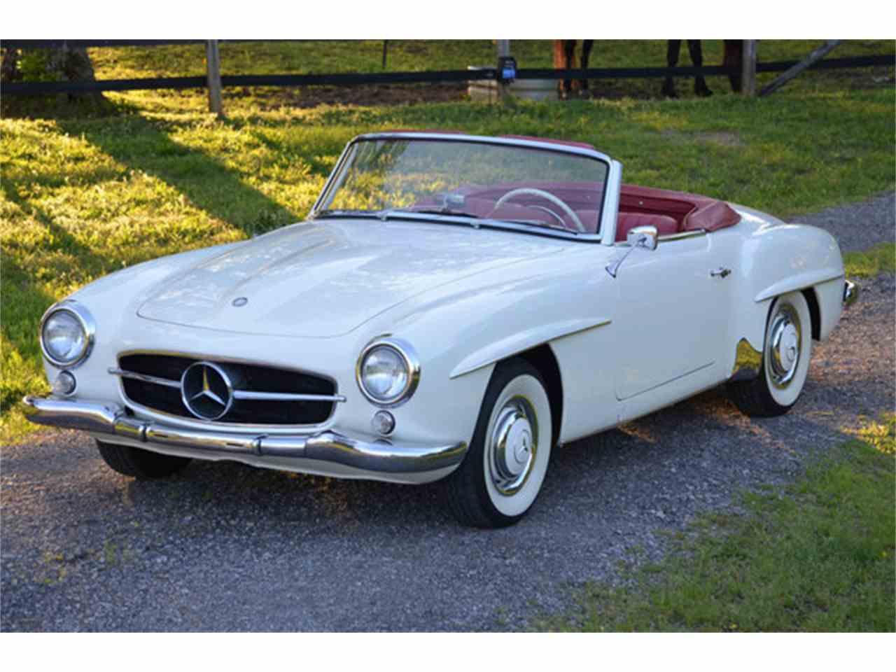 1960 mercedes benz 190sl for sale cc for Benz mercedes for sale