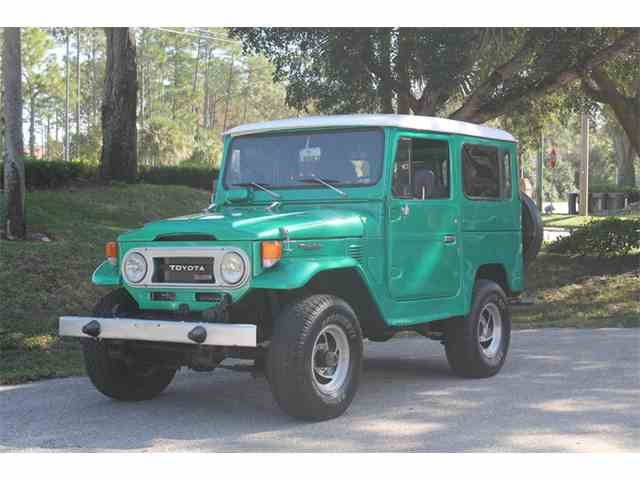 1978 Toyota Land Cruiser BJ 40 | 989282