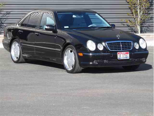 2001 Mercedes-Benz E55 | 989298