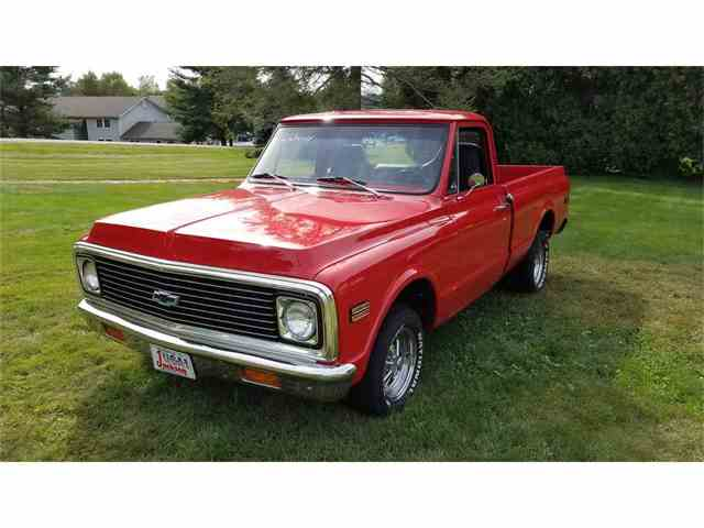 1972 Chevrolet 1/2-Ton Shortbox | 989331