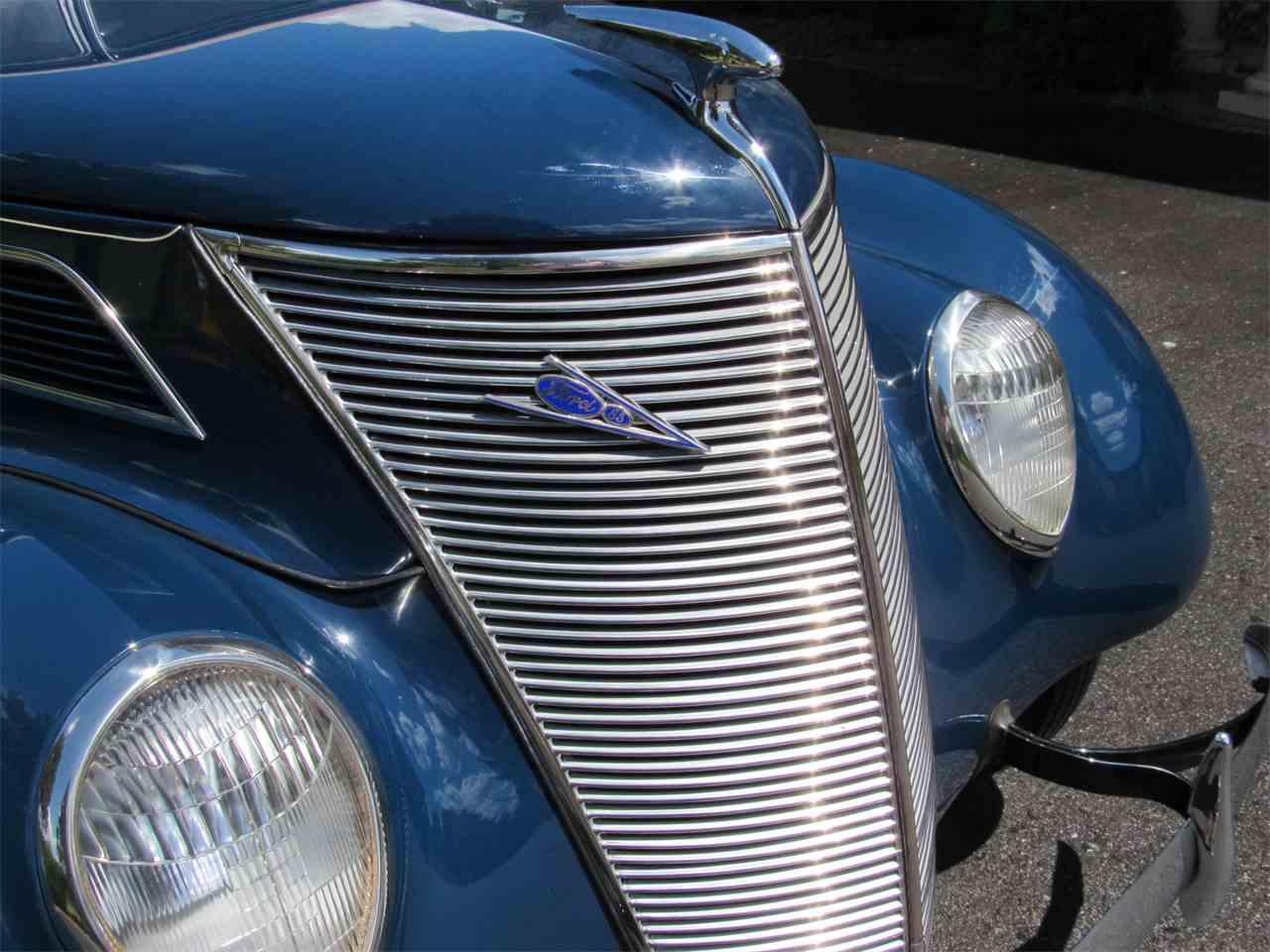 1937 Ford V8 Deluxe Convertible Sedan For Sale