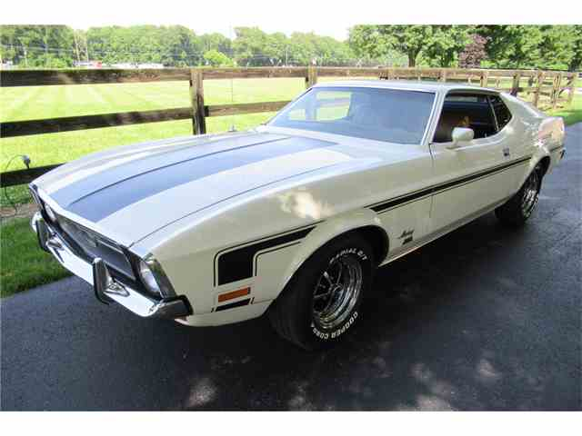 1972 Ford Mustang   989378
