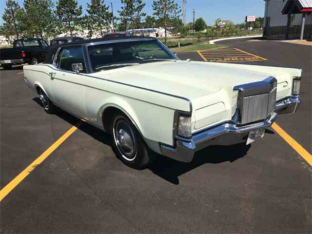 1969 lincoln continental for sale on 7 available. Black Bedroom Furniture Sets. Home Design Ideas