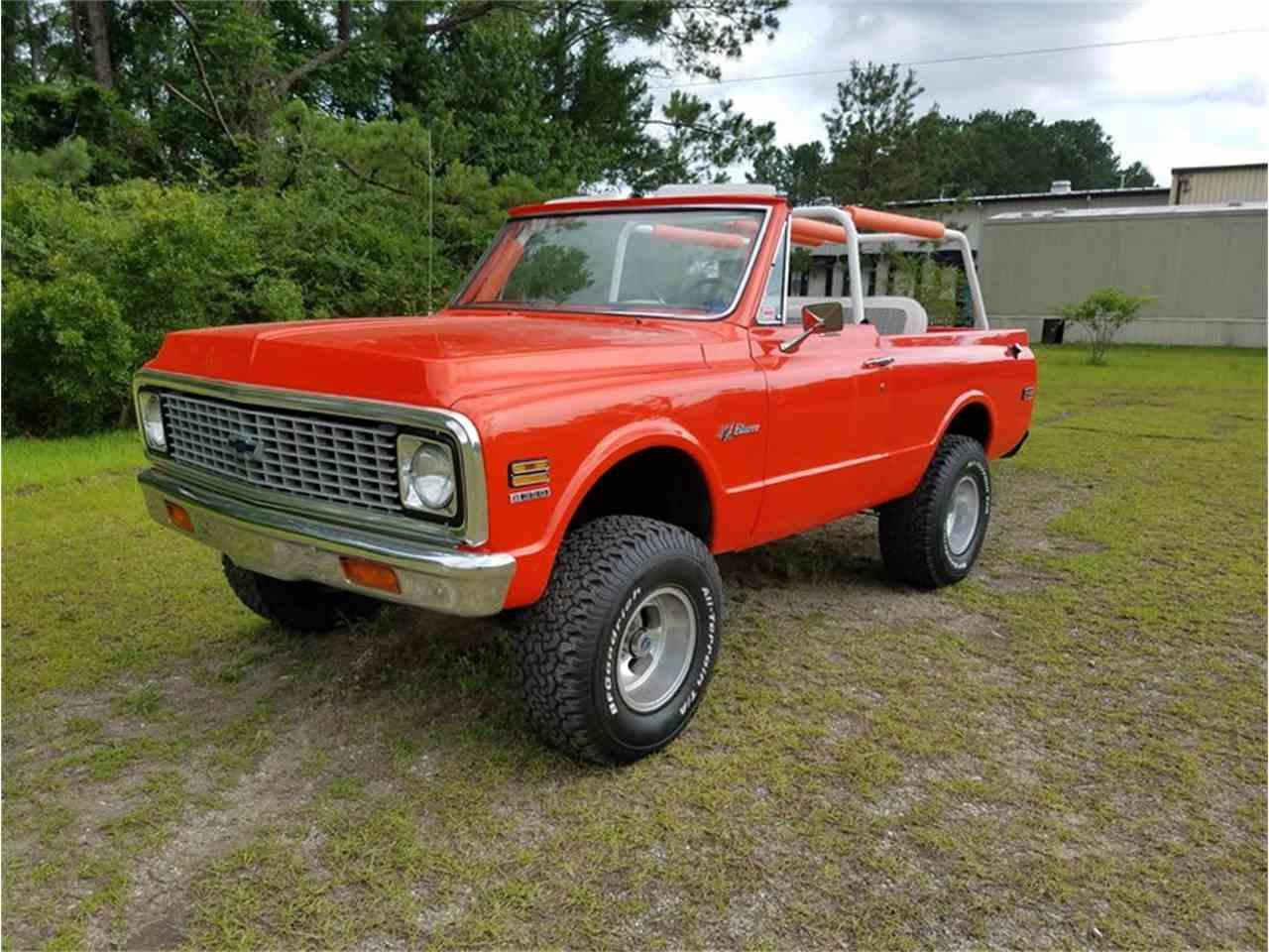 1972 Chevrolet Blazer For Sale Cc 989394