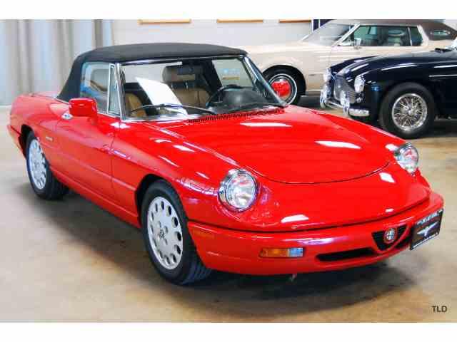 1991 Alfa Romeo 2000 Spider Veloce | 989606