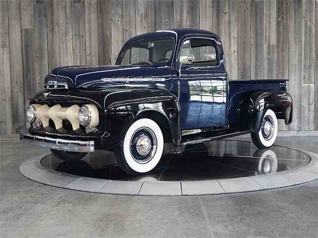1951 FORD F1 REGULAR CAB | 989740