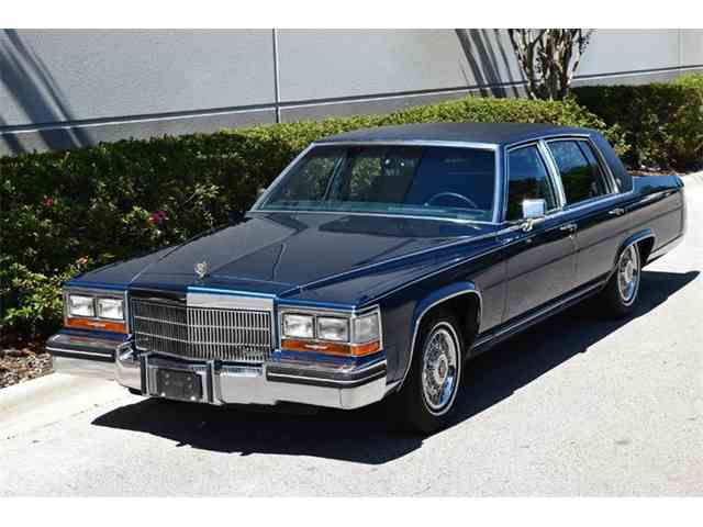 1989 cadillac fleetwood brougham cc 989743. Cars Review. Best American Auto & Cars Review