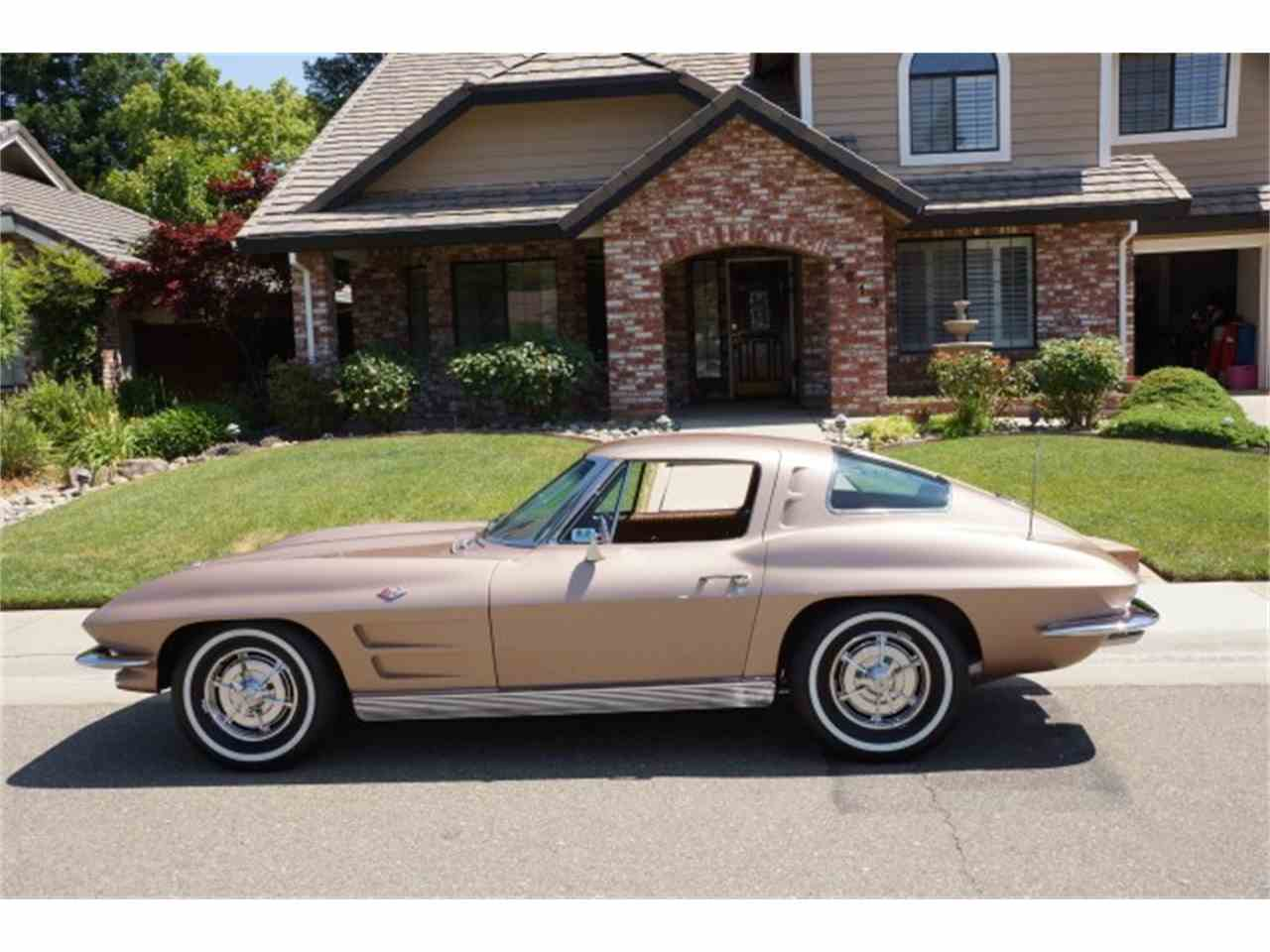 1963 chevrolet corvette split window for sale for 1963 corvette split window fuelie sale