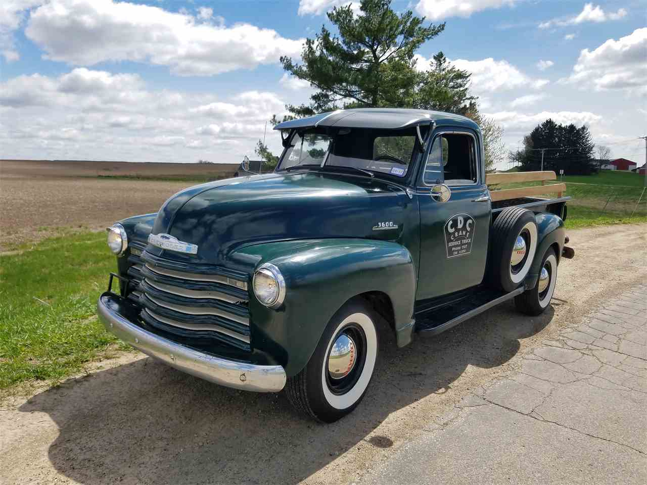 1953 chevrolet 3600 for sale cc 989814. Black Bedroom Furniture Sets. Home Design Ideas