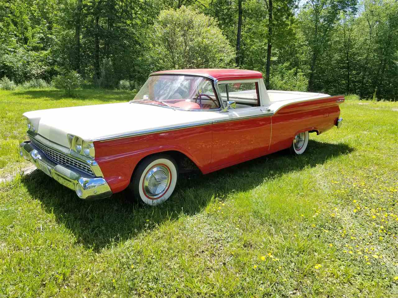 1959 ford ranchero for sale cc 991004 for Classic motor cars of ellington