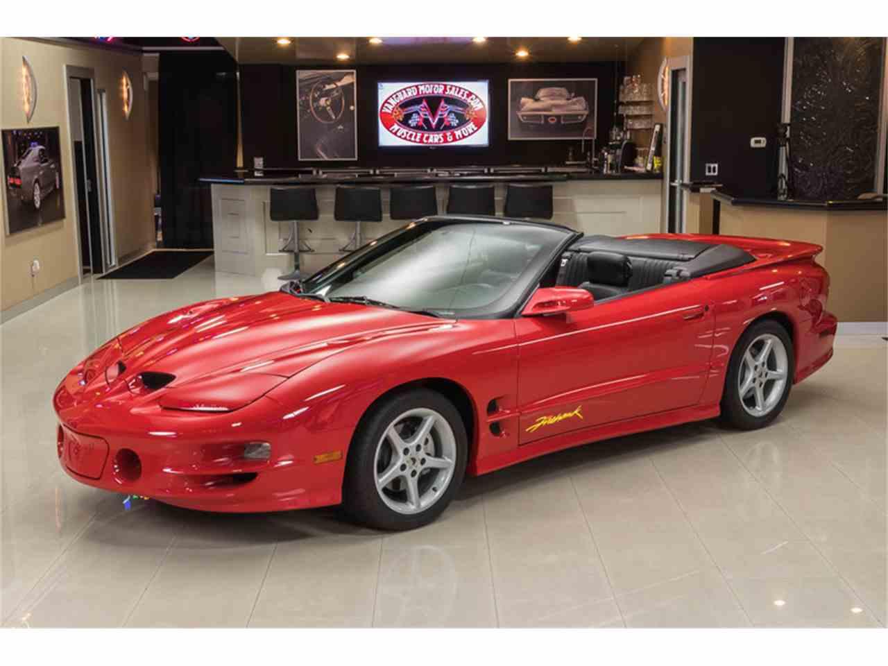 2002 pontiac firebird trans am firehawk convertible for sale cc 991025. Black Bedroom Furniture Sets. Home Design Ideas