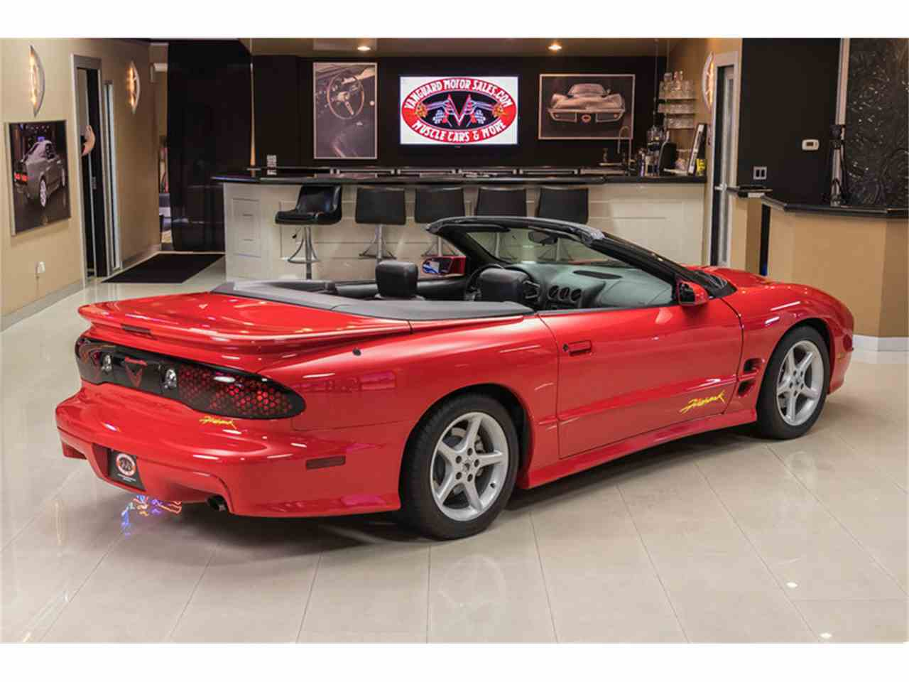 2002 pontiac firebird trans am firehawk convertible for sale cc 991025. Black Bedroom Furniture Sets. Home Design Ideas