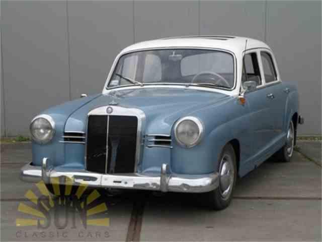 1958 Mercedes-Benz 190 Ponton | 991132
