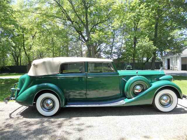 1937 Packard Super Eight Convertible Sedan | 991275