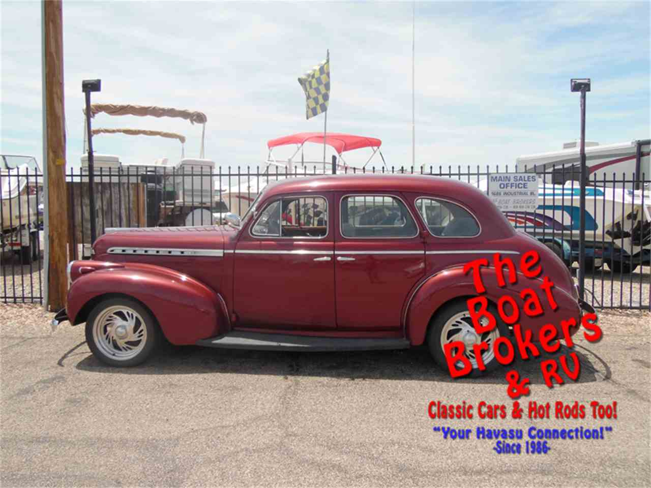 Large Picture of '40 4-Dr Sedan - L8X0