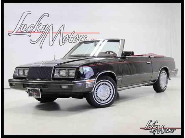 1984 Chrysler LeBaron | 991345