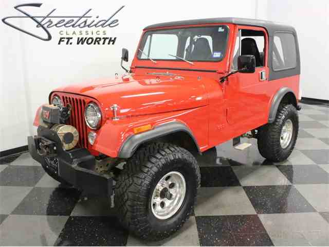 Classic Jeep CJ7 for Sale on ClassicCarscom  36 Available