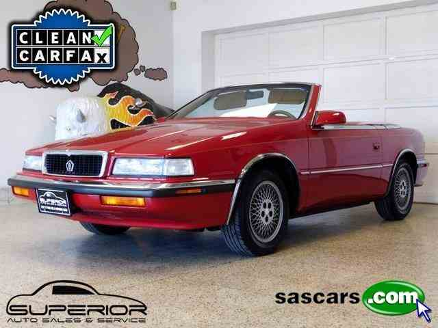 1989 Chrysler TC by Maserati | 991534