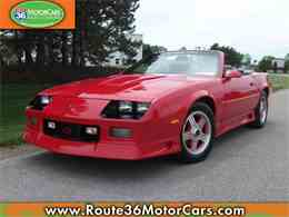 Picture of 1991 Chevrolet Camaro located in Ohio - $24,775.00 Offered by Route 36 Motor Cars - L80O