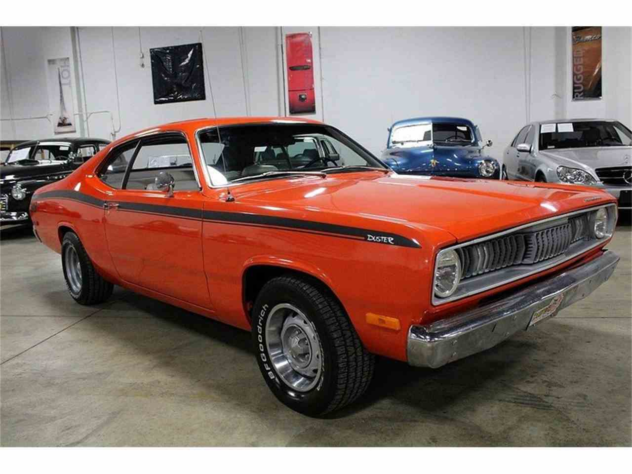 1972 plymouth duster for sale cc 990212. Black Bedroom Furniture Sets. Home Design Ideas