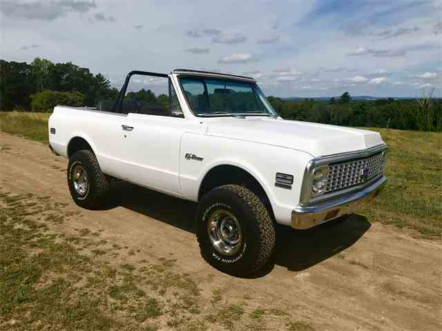 Picture of '72 Blazer - L82C