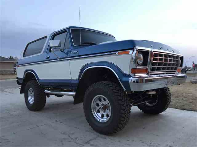classic ford bronco for sale on 112 available. Black Bedroom Furniture Sets. Home Design Ideas