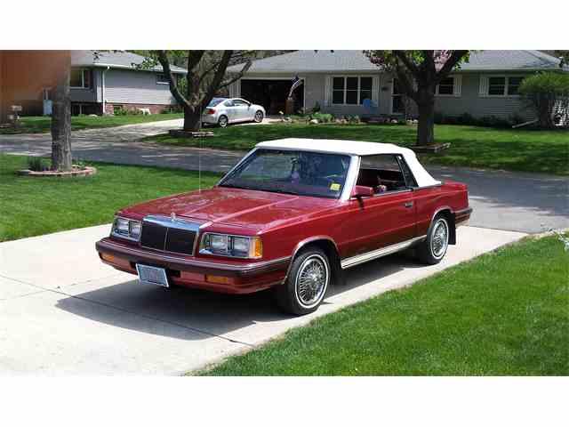 1986 Chrysler LeBaron | 992476
