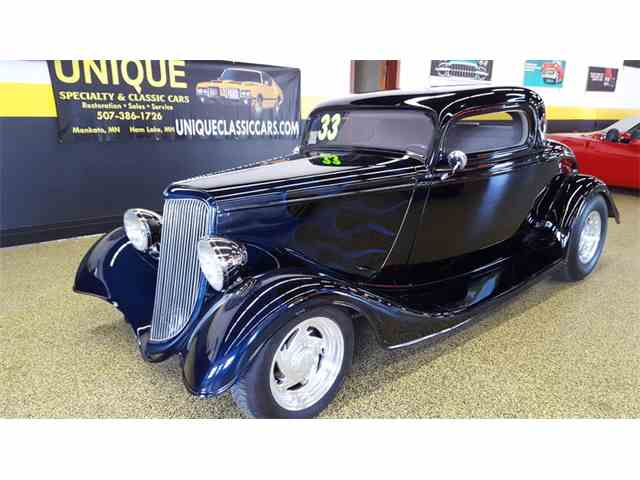 1933 Ford 3 Window Coupe    Street Rod | 992589