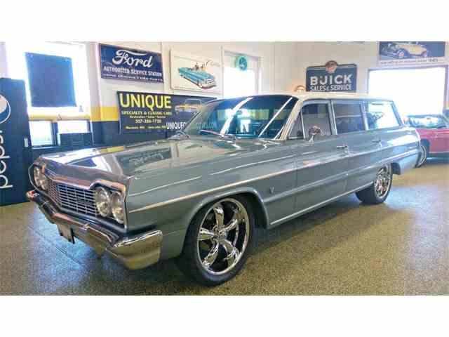 1964 Chevrolet Bel Air    4 Door Wagon   992597