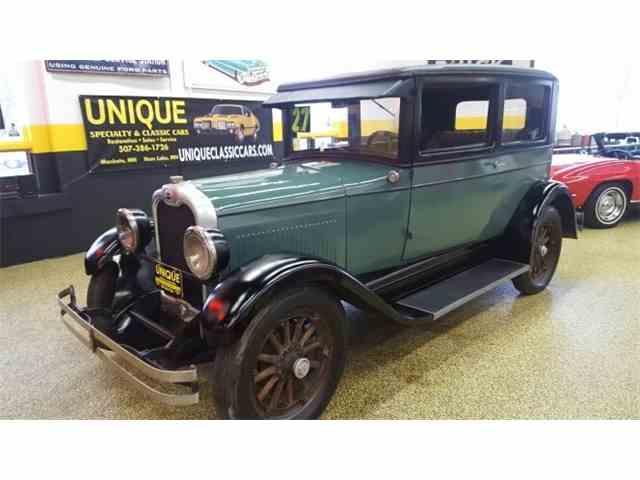 1927 Oakland 2dr    Sedan   992666
