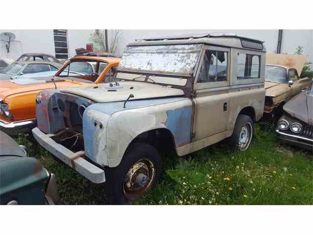 1962 Land rover Series IIA    88 | 992693