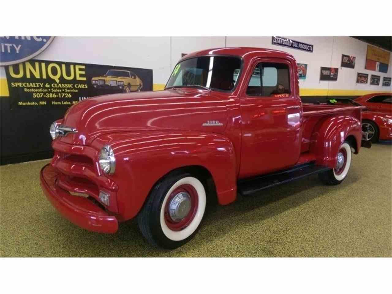 1954 chevrolet 3100 pickup for sale cc 992696. Black Bedroom Furniture Sets. Home Design Ideas